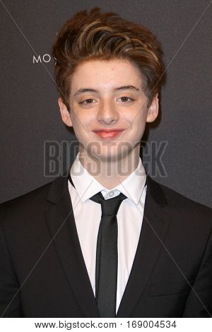 Thomas Barbusca arrives at the Weinstein Company and Netflix 2017 Golden Globes After Party on Sunday, January 8, 2017 at the Beverly Hilton Hotel in Beverly Hills, CA.