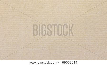 Corrugated paper cardboard texture background for design with copy space for text or image.