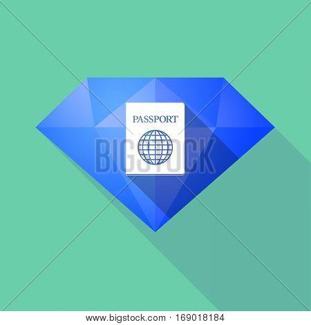 Long Shadow  Diamond With  A Passport