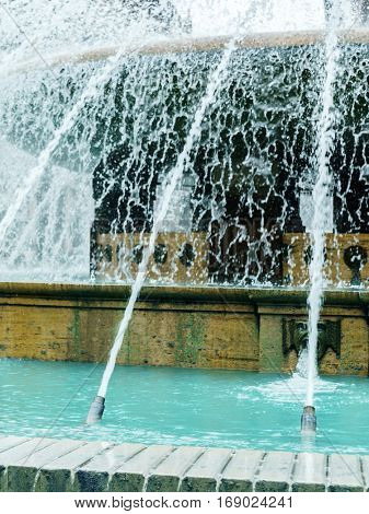 fountain in the Italy