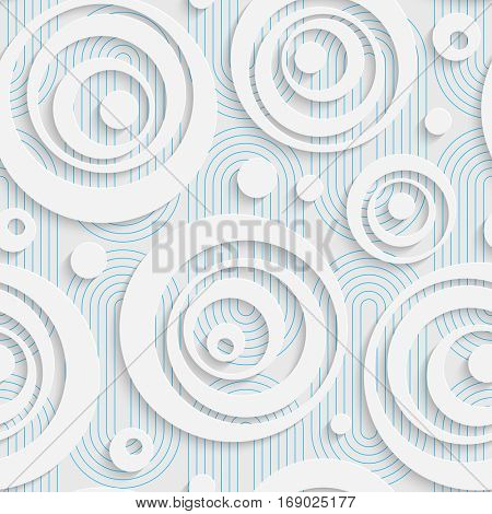 Seamless Web Pattern. Abstract Creative Background. Modern Swatch Wallpaper. 3d Sample Design. Wrapping Bubble Texture