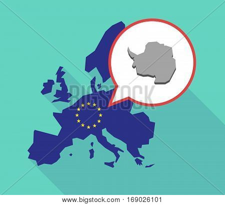 Map Of The Eu Map With  The Map Of  Antarctica