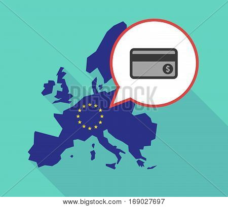 Map Of The Eu Map With  A Credit Card