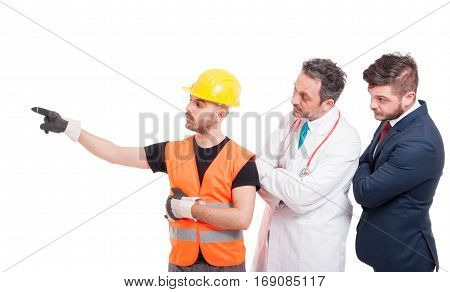 Builder Or Engineer Indicate Something