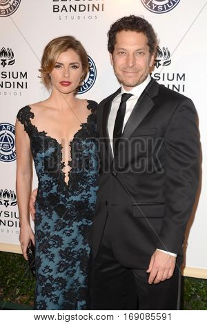 LOS ANGELES - JAN 7:  Brianna Brown, Richie Keen at the Art of Elysium 10th Annual Black Tie Heaven Gala at Red Studios on January 7, 2017 in Los Angeles, CA