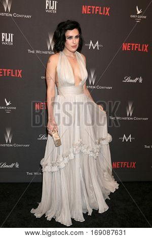 LOS ANGELES - JAN 8:  Rumer WIllis at the Weinstein And Netflix Golden Globes After Party at Beverly Hilton Hotel Adjacent on January 8, 2017 in Beverly Hills, CA