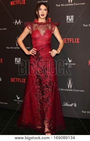 LOS ANGELES - JAN 8:  Maya Henry at the Weinstein And Netflix Golden Globes After Party at Beverly Hilton Hotel Adjacent on January 8, 2017 in Beverly Hills, CA