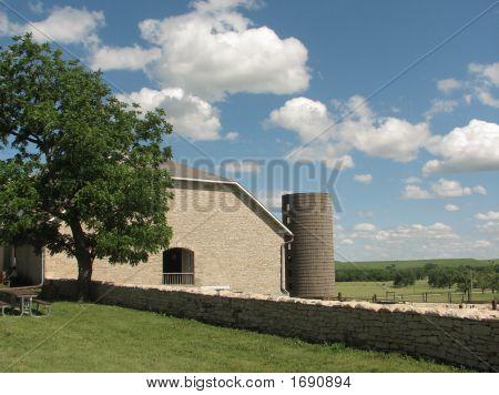 1881 Kansas Limestone Barn