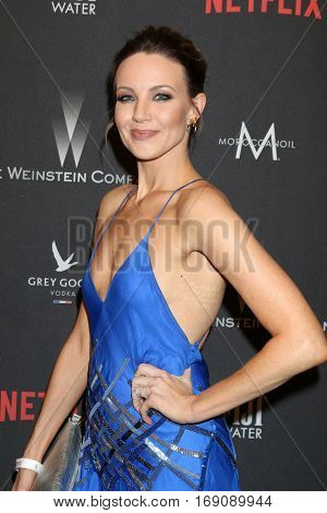 LOS ANGELES - JAN 8:  Brianne Davis at the Weinstein And Netflix Golden Globes After Party at Beverly Hilton Hotel Adjacent on January 8, 2017 in Beverly Hills, CA