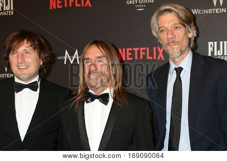 LOS ANGELES - JAN 8:  Iggy Pop, James Newell Osterberg, Jr, Guests at the Weinstein And Netflix Golden Globes After Party at Beverly Hilton Hotel Adjacent on January 8, 2017 in Beverly Hills, CA