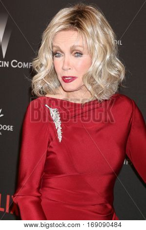 LOS ANGELES - JAN 8:  Donna Mills at the Weinstein And Netflix Golden Globes After Party at Beverly Hilton Hotel Adjacent on January 8, 2017 in Beverly Hills, CA
