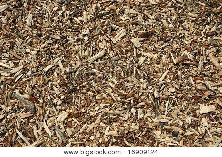 wooden chops