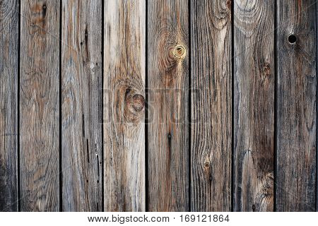 Wooden background old wall of vertical planks