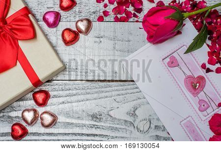 Valentines day and Sweetest day chocolate for love
