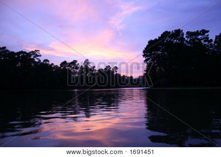Purple Cloudscape