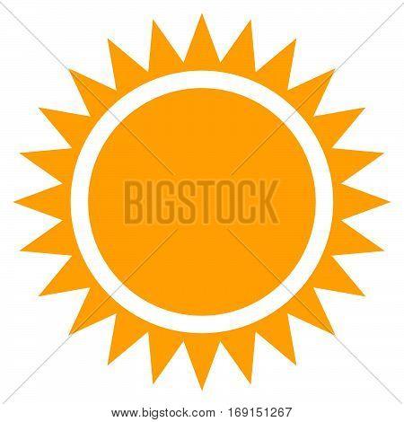Sun Clip-art, Flat Sun Icon With Edgy Rays
