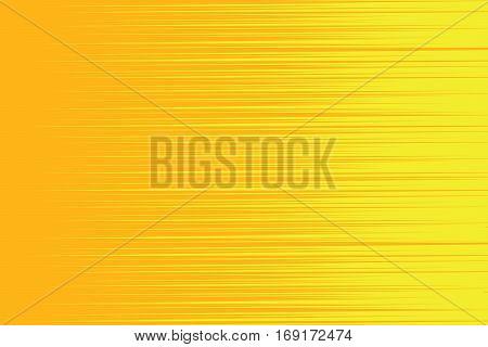 Orange yellow horizontal shading background. Vintage pop art retro vector illustration