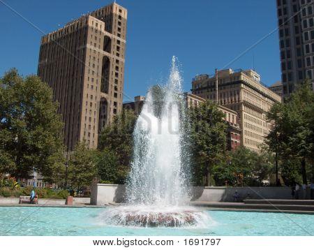 Fountain In Philadelphia