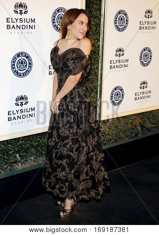 Zelda Williams at the Art of Elysium Celebrating the 10th Anniversary held at the Red Studios in Los Angeles, USA on January 7, 2017.