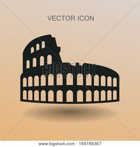 Colosseum vector illustration