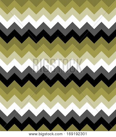 Chevron pattern seamless vector arrows  design colorful black white grey green