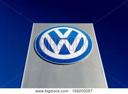 Volkswagen Sign And Logo