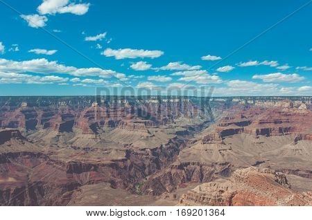 View of the Grand Canyon from Mother Point, Arizona