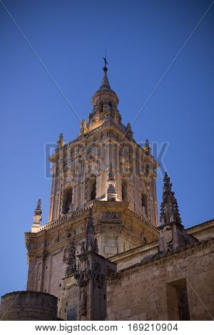 Cathedral of Burgo de Osma, a small but very pretty village of Soria.