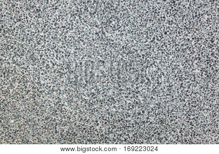 terrazzo texture background with small chips and stone