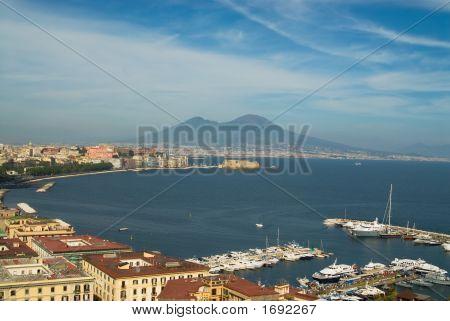 Naples And Mt.Vesuvius