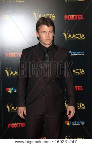 LOS ANGELES - JAN 6:  Luke Hemsworth at the 6th AACTA International Awards at 229 Images on January 6, 2017 in Los Angeles, CA