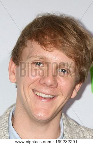 PASADENA - JAN 7:  Josh Thomas at the HULU TCA Winter 2017 Photo Call at the Langham Hotel on January 7, 2015 in Pasadena, CA
