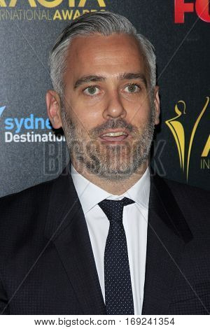 LOS ANGELES - JAN 6:  Iain Canning at the 6th AACTA International Awards at 229 Images on January 6, 2017 in Los Angeles, CA
