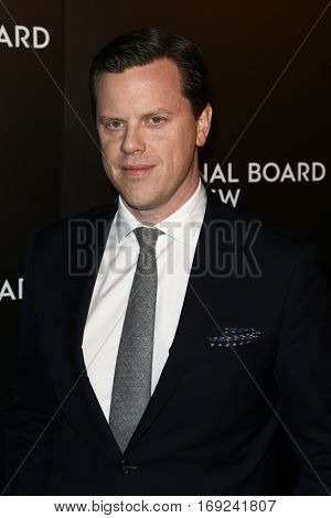 NEW YORK-JAN 4: Host Willie Geist attends the National Board of Review Gala at Cipriani Wall Street in New York on January 4, 2017.