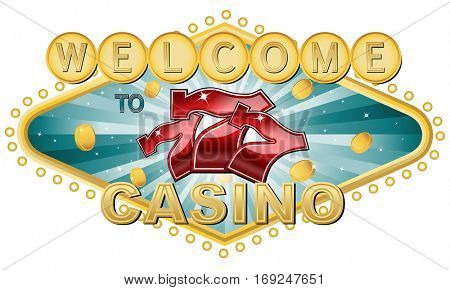 Welcome to triple 7 casino logo