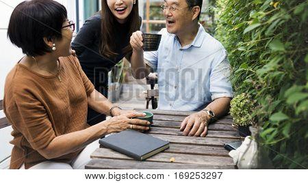 Relationship Bonding Casual Cheerful Leisure