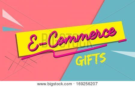 Online Shopping Cart E-Commerce Concept