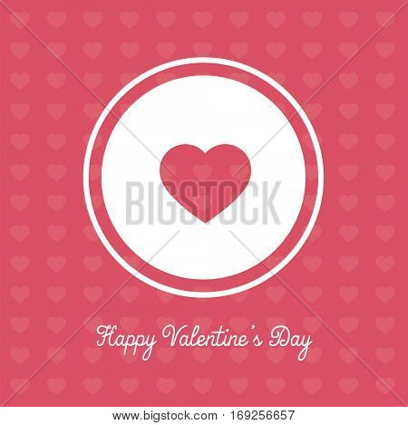 Valentines Day banner in simple yet cute and catchy design