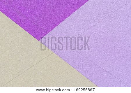 Pink, Yellow And Purple Pastel Background. Top View.
