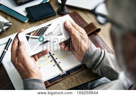 Audit Wealth Investment Finance Economy Concept