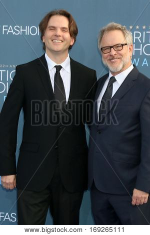 LOS ANGELES - DEC 11:  Rich Moore, Byron Howard at the 22nd Annual Critics' Choice Awards at Barker Hanger on December 11, 2016 in Santa Monica, CA