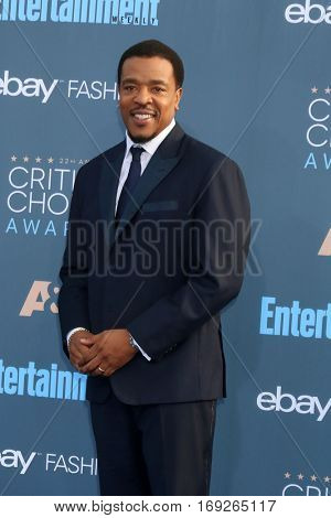 LOS ANGELES - DEC 11:  Russell Hornsby at the 22nd Annual Critics' Choice Awards at Barker Hanger on December 11, 2016 in Santa Monica, CA