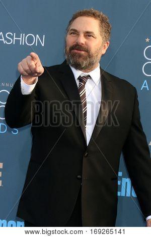 LOS ANGELES - DEC 11:  Todd Komarnicki at the 22nd Annual Critics' Choice Awards at Barker Hanger on December 11, 2016 in Santa Monica, CA