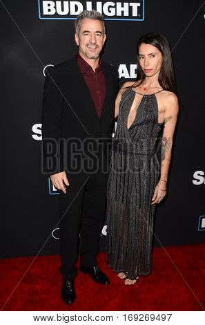 LOS ANGELES - JAN 5:  Dermot Mulroney, Tharita Cesaroni at the
