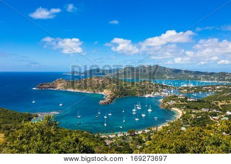 Shirley Heights, Antigua view.
