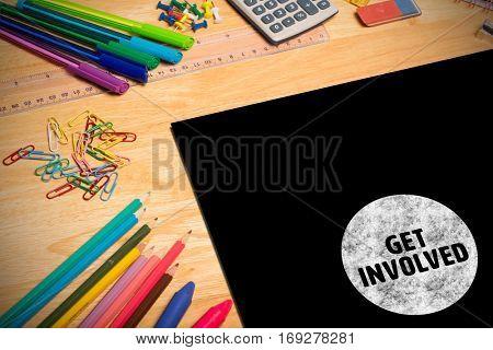 Get involved against students desk