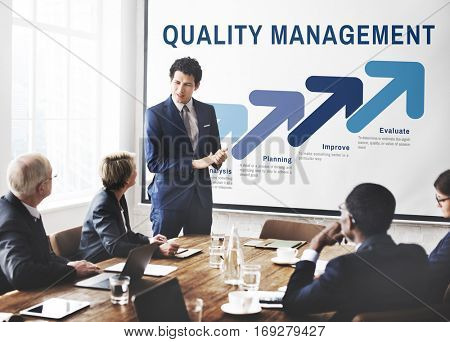 Assurance Quality Standard Warranty Guarantee Concept