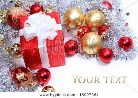 regalo de Navidad Roja
