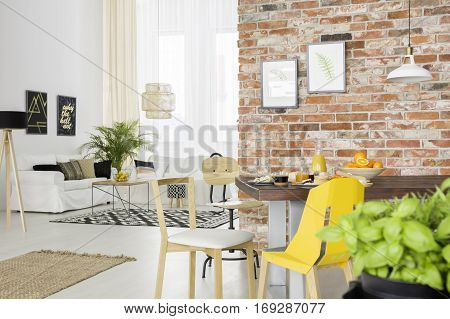Apartment With Open Living Room