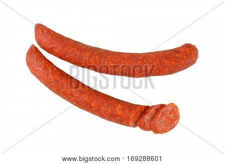 Hungarian Csabai Sausages (Csabai kolbasz) -  pork sausages with a lot of paprika